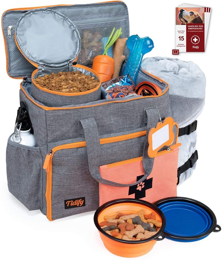 Best Dog gear travel bag: Tidify Travel Handbag style